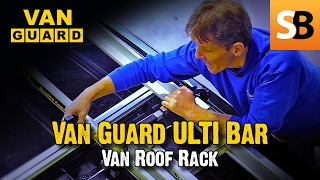 ULTI Bar Van Roof Rack - Lightweight & Heavy Duty(Roger takes you through the benefits of using the aerodynamic heavy duty ULTI Bar roof rack system for vans. There is a specific product for every model of van., 2015-02-21T10:15:05.000Z)