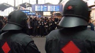 Nach Demo gegen Rechts: Randale in Hamburg