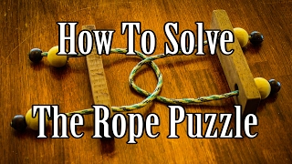 How to Solve a Rope Puzzle