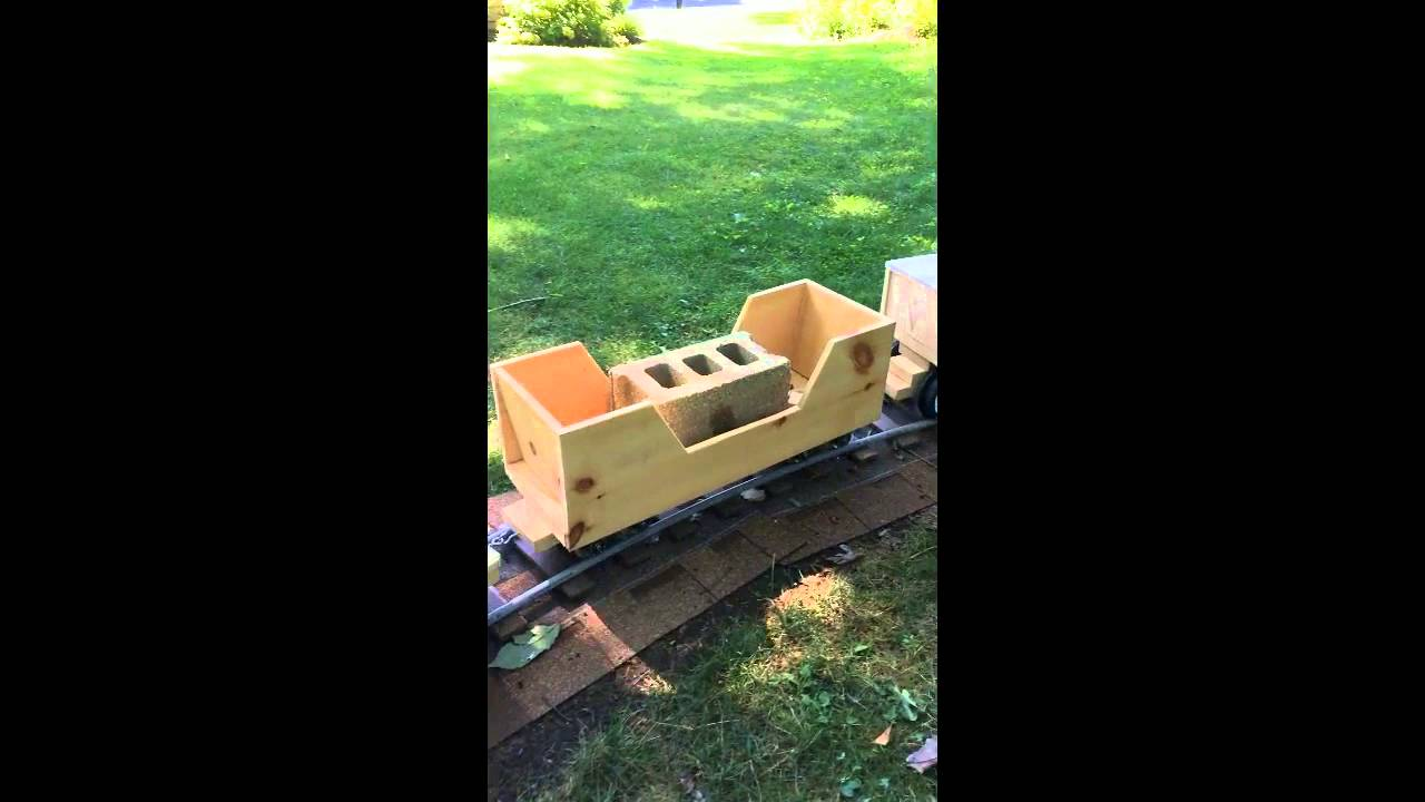Build your own ride on train - YouTube