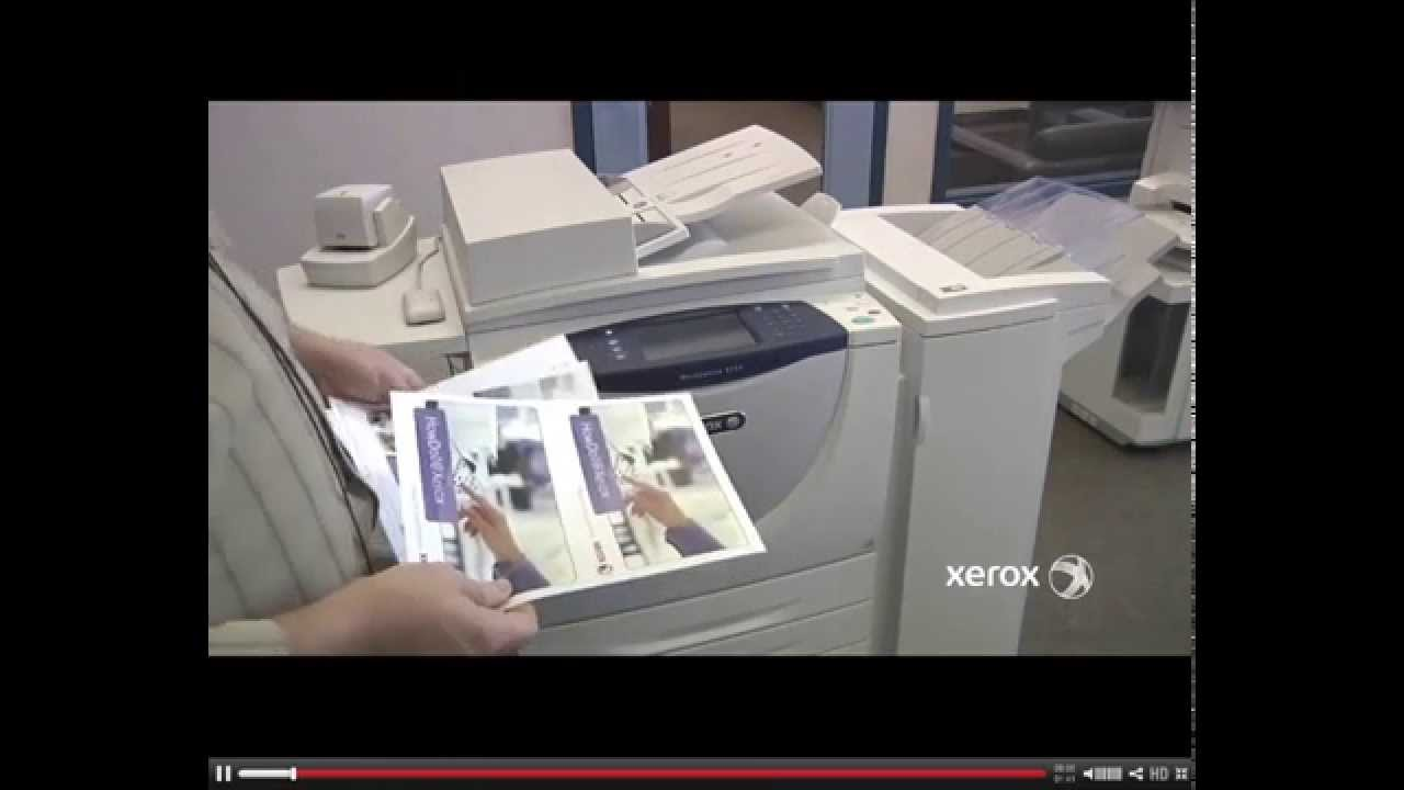 How to copy Single or Double Sided Documents using a Xerox copier
