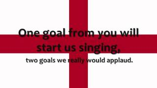 Bobby Moore - Oh Sweet England (Lyrics on Screen)