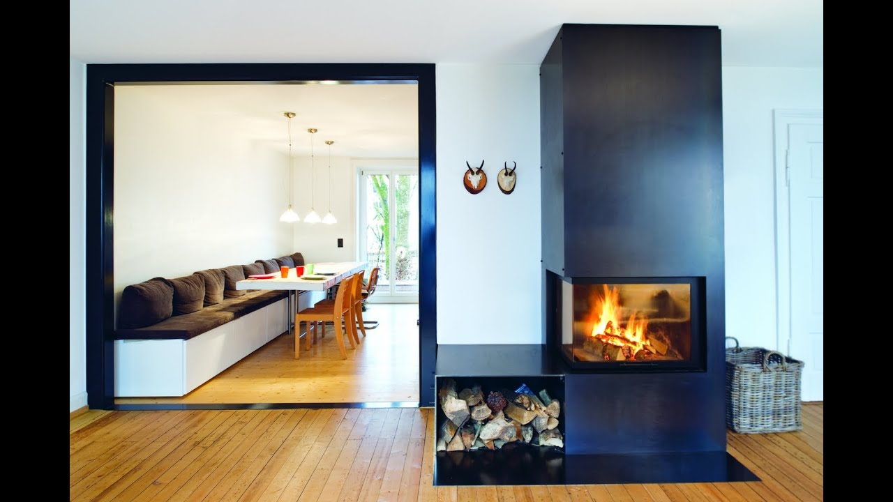 great modern fireplace ideas youtube. Black Bedroom Furniture Sets. Home Design Ideas