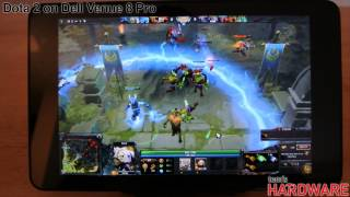 Dell Venue 8 Pro - Dota 2 Test