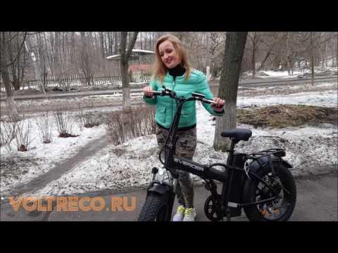 Электровелосипед Фэтбайк Everider Explorer 1000 Voltreco.ru
