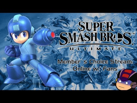 Member's Choice Stream: SR Vs. The Viewers in Super Smash Bros. Ultimate Online! thumbnail