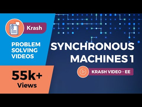 GATE (EE) - Synchronous Machines 1 (Electrical Machines) - Krash - Problem Solving