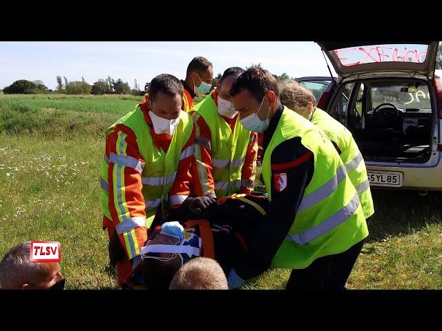 Luçon : les pompiers formés sur les véhicules électriques