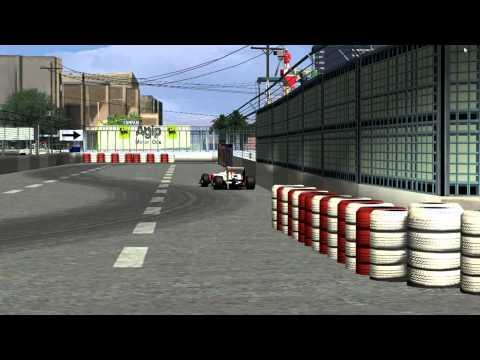 RFactor P4OW F1 Free Championship 4 Replay Arizona Phoenix 1991 Hotlap 1:17.009 G25 400°