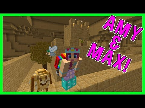 Amy & Max! Ep 49 A NEW DIMENSION! | Minecraft | Amy Lee33