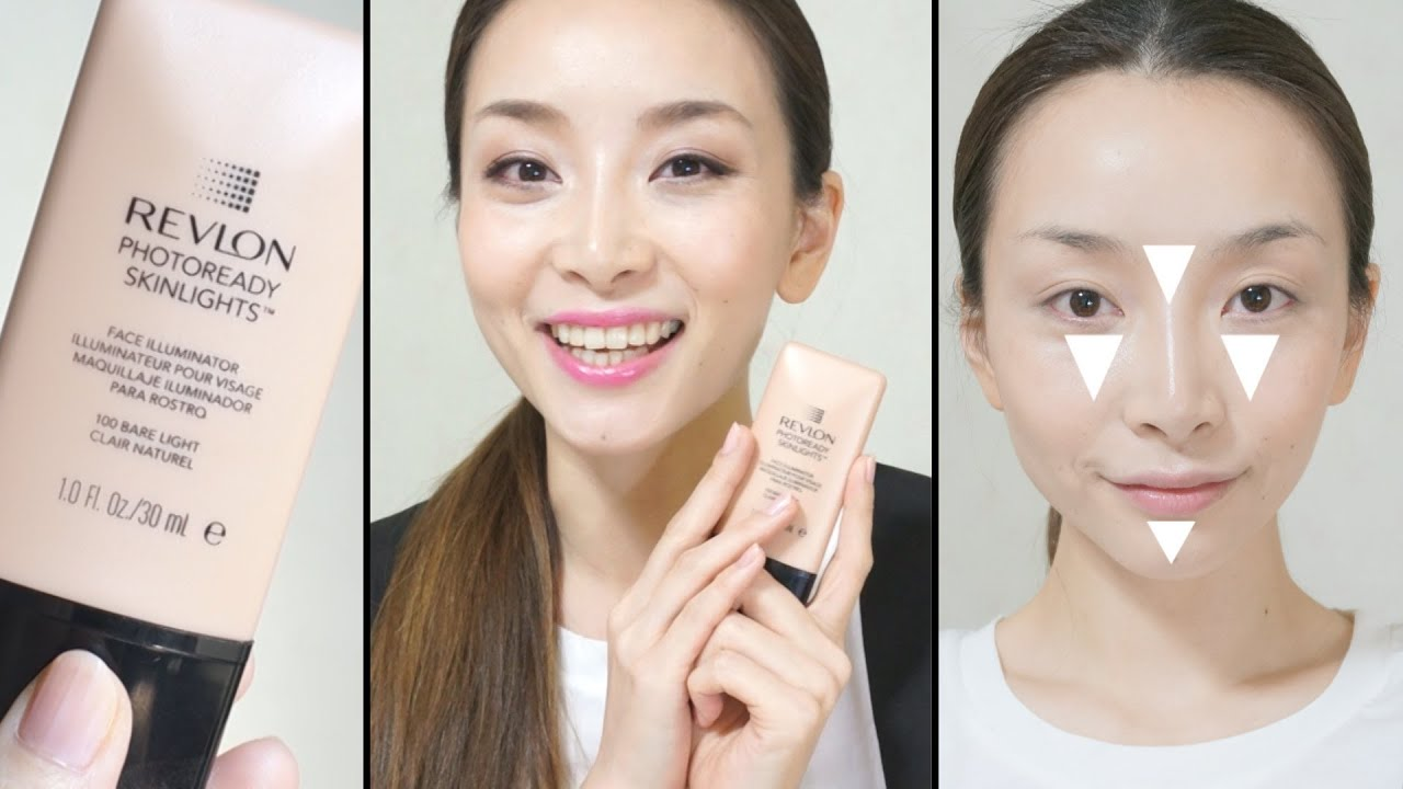 How to Apply Highlighter: Revlon PhotoReady Skinlights Face ...