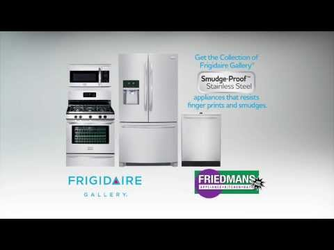 Frigidaire Timeline: Smudge-Proof Stainless Available at Friedmans in Long Beach!