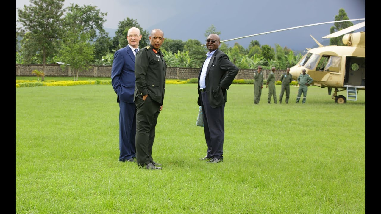 HOW RWANDA ARMY CHIEF ARRIVED FOR SECURITY SYMPOSIUM