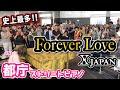 Street Piano【都庁ピアノ】X JAPANの「Forever Love」を弾いて大観衆の都庁に感動を!!【ストリートピアノ】XJAPAN piano cover:w32:h24