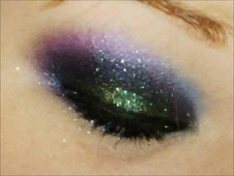 Rockstar Peacock - Smokey eye- Makeup Tutorial