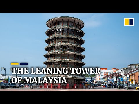 Leaning tower in Malaysia standing strong after more than 100 years