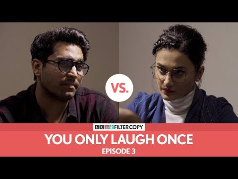FilterCopy Vs Taapsee Pannu | YOLO: You Only Laugh Once | S01E03 | Ft. Taapsee and Viraj