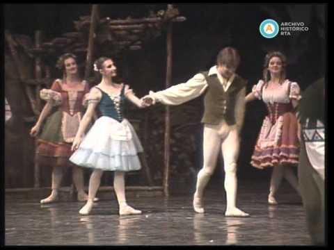 """Julio Bocca y Silvia Bazilis protagonizan el ballet """"Giselle"""", 1987 (parte I)"""