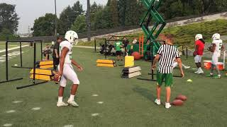 Sights and sounds from Oregon Ducks practice on Aug. 21
