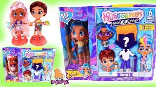 hairDUDEables! мультик. У КІНО З ХЛОПЧИКОМ! ЛЯЛЬКИ ХЛОПЧИК + ДІВЧИНКА! HAIRDORABLES Surprise Dolls