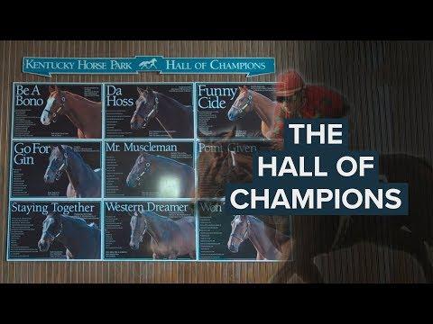 MEET THE KENTUCKY HORSE PARK HALL OF CHAMPIONS