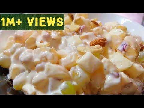 Russian Fruit Salad Recipe. Easy And Quick Recipe