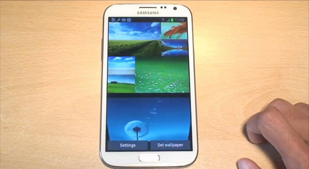 Samsung Galaxy Note 2 Live Wallpaper Wallpapers Gt N7100 Youtube