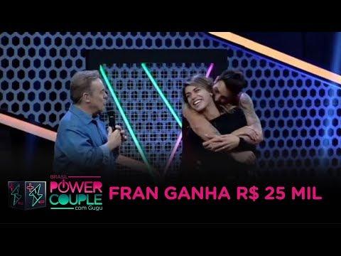 Fran Conclui A Prova Das Mulheres E Fatura R$ 25 Mil