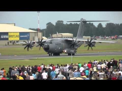 Airbus A400M Atlas amazing  takeoff capabilities!!!
