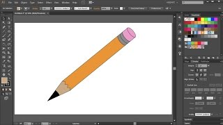 How to Draw a Pencil in Adobe Illustrator