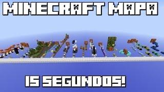 Minecraft Mapa 15 SEGUNDOS!