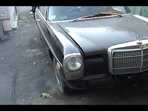 1972 mercedes benz 220d for sale youtube for Mercedes benz 220d for sale