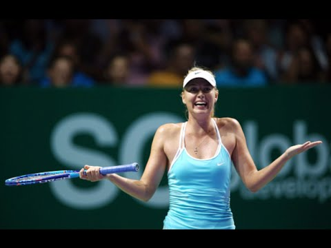 Sharapova VS Radwanska Highlight 2015