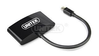 Cáp Mini Displayport to VGA HDMI chính hãng unitek giá rẻ tại tphcm