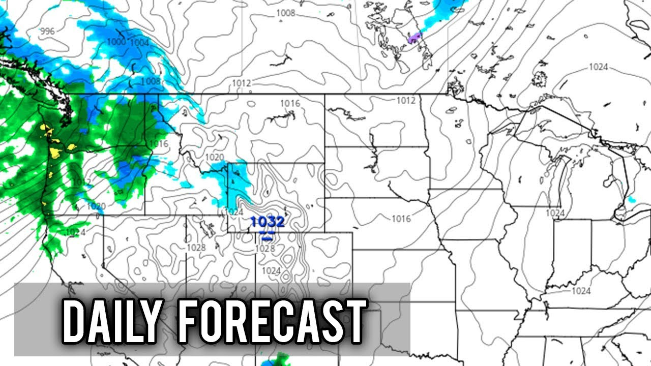 Daily United States Weather Forecast - Tuesday December 18th