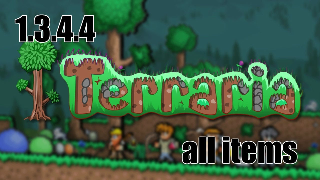 All Terraria items 1 3 4 4