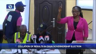 Collation Of Results In Osun Governorship Election Pt.4  Osun Decides 
