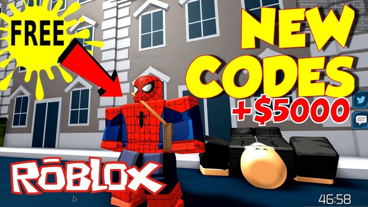 Robloxsuperhero Simulator Code Youtube New Superhero Simulator Codes Upgrade To Spiderman Easy Roblox Youtube