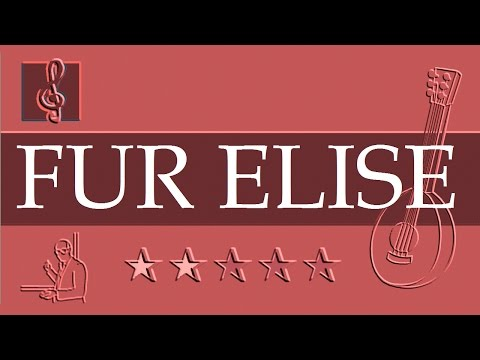 Mandolin TAB - Beethoven - Für Elise (Sheet music)