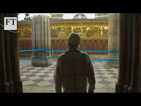 Notre-Dame: an exclusive first look at restoration works