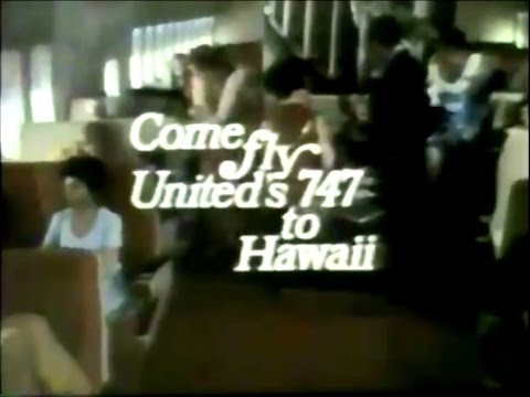 United Airlines 'Hawaii' Commercial (Brian Forster, 1970)
