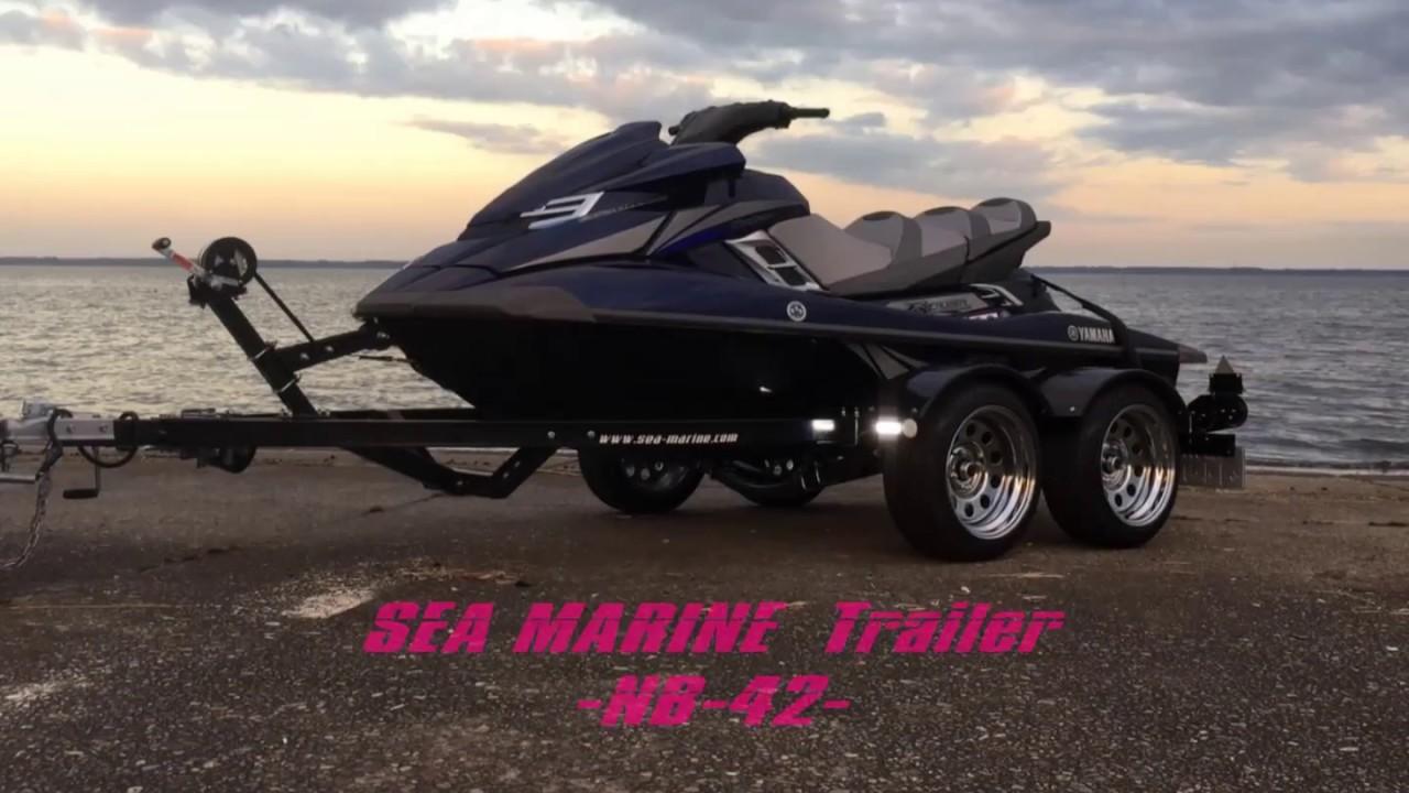 seamarine trailer -NB-42- PWCトレーラー - YouTube
