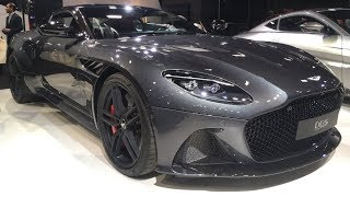 New Aston Martin DBS Superleggera 2019 first look (exterior & interior)