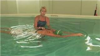 How to Swim the Freestyle Stroke : How to Float in Water in Streamline Position
