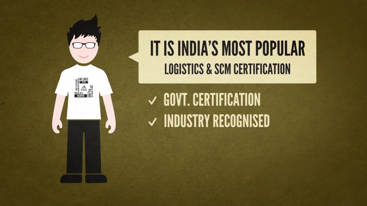 Logistics and SCM Certification   Vskills - YouTube