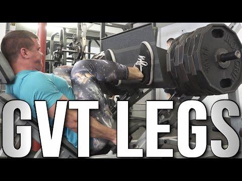 Full Leg Workout: German Volume Training (GVT)