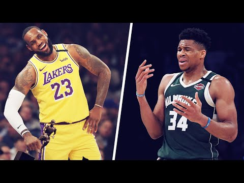 Giannis' angry reaction after Lebron James was named NBA's 2019/2020 MVP   House Of Bounce
