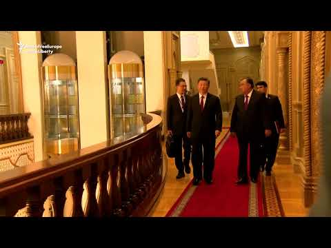 Tajik, Chinese Presidents Sign Agreements To Bolster Ties