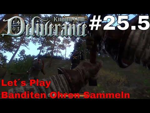 Banditen Ohren Sammeln / Let´s Play Kingdom Come Deliverance #25.5 (PS4 pro) (Deutsch / German)