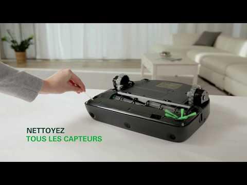 Comment entretenir mon robot aspirateur VR300 ?